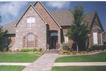 Architectural House Design - European Exterior - Front Elevation Plan #52-139