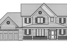 Traditional Exterior - Front Elevation Plan #46-899
