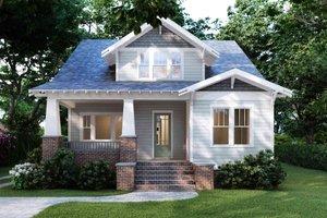 Craftsman Exterior - Front Elevation Plan #1079-1