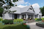 Farmhouse Style House Plan - 3 Beds 2.5 Baths 2270 Sq/Ft Plan #120-256 Exterior - Rear Elevation