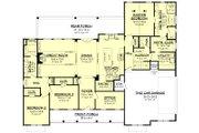 Farmhouse Style House Plan - 3 Beds 2.5 Baths 2553 Sq/Ft Plan #430-204 Floor Plan - Main Floor Plan