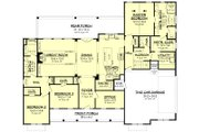 Farmhouse Style House Plan - 3 Beds 2.5 Baths 2553 Sq/Ft Plan #430-204 Floor Plan - Main Floor