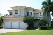 Mediterranean Style House Plan - 6 Beds 5.5 Baths 4713 Sq/Ft Plan #420-157 Photo