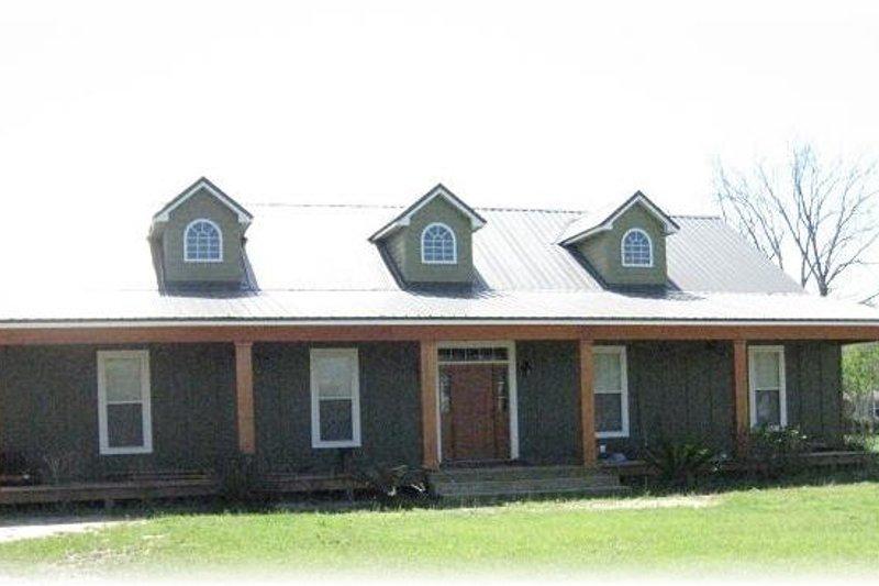 Country Photo Plan #44-125 - Houseplans.com