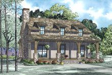 Country Exterior - Other Elevation Plan #17-2521