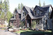 Craftsman Style House Plan - 4 Beds 2.5 Baths 2196 Sq/Ft Plan #48-107 Exterior - Front Elevation