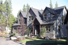 Dream House Plan - Craftsman Exterior - Front Elevation Plan #48-107