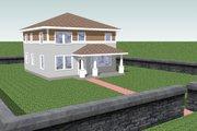 Craftsman Style House Plan - 4 Beds 3 Baths 2027 Sq/Ft Plan #423-15