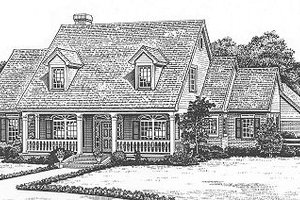 Farmhouse Exterior - Front Elevation Plan #310-625