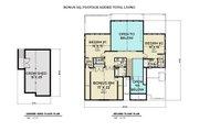 Farmhouse Style House Plan - 3 Beds 3.5 Baths 3168 Sq/Ft Plan #1070-134
