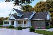 Farmhouse Style House Plan - 4 Beds 2.5 Baths 2268 Sq/Ft Plan #923-103