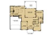 Country Style House Plan - 5 Beds 4.5 Baths 4235 Sq/Ft Plan #1066-42 Floor Plan - Main Floor
