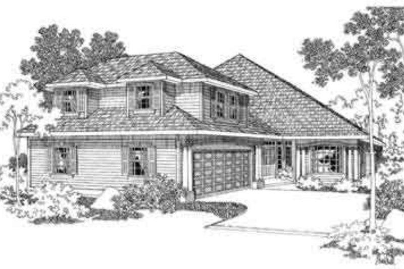 Home Plan - Modern Exterior - Front Elevation Plan #124-351