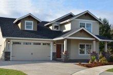 Craftsman Exterior - Front Elevation Plan #124-1210