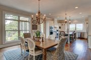 Ranch Style House Plan - 3 Beds 3.5 Baths 2350 Sq/Ft Plan #437-89 Interior - Dining Room