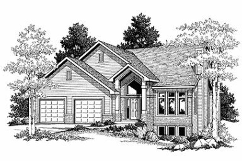 Traditional Exterior - Front Elevation Plan #70-391