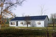 Ranch Style House Plan - 4 Beds 2 Baths 2047 Sq/Ft Plan #1-445