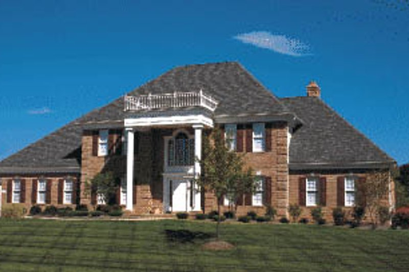 Home Plan - Southern Exterior - Front Elevation Plan #20-202