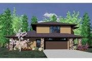 Prairie Style House Plan - 0 Beds 1 Baths 2051 Sq/Ft Plan #509-3 Exterior - Other Elevation
