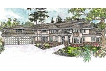 House Design - European Exterior - Front Elevation Plan #124-603