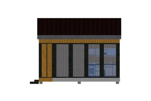 Modern Exterior - Other Elevation Plan #549-11