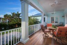 House Plan Design - Cottage Exterior - Covered Porch Plan #938-87