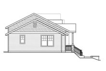 Craftsman Exterior - Other Elevation Plan #124-1076