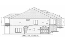 House Plan Design - Contemporary Exterior - Other Elevation Plan #20-2357
