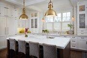 Tudor Style House Plan - 5 Beds 5 Baths 7398 Sq/Ft Plan #928-275 Interior - Kitchen