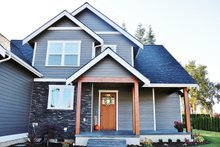 Architectural House Design - Craftsman Exterior - Front Elevation Plan #1070-13