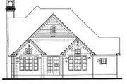European Style House Plan - 3 Beds 2.5 Baths 2214 Sq/Ft Plan #20-770 Exterior - Rear Elevation