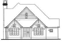 Dream House Plan - European Exterior - Rear Elevation Plan #20-770