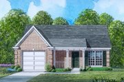 Traditional Style House Plan - 3 Beds 2 Baths 1201 Sq/Ft Plan #424-51