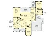 Country Style House Plan - 4 Beds 4.5 Baths 3643 Sq/Ft Plan #930-469 Floor Plan - Main Floor Plan