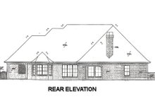 Home Plan - European Exterior - Rear Elevation Plan #310-669