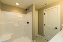 Architectural House Design - Lower Level Bathroom