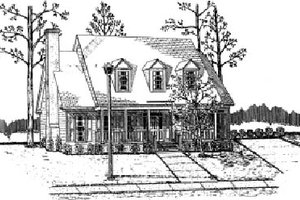 Traditional Exterior - Front Elevation Plan #37-130
