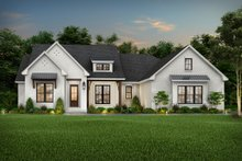 Architectural House Design - Farmhouse Exterior - Front Elevation Plan #430-220