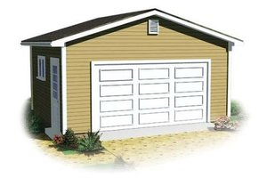 Traditional Exterior - Front Elevation Plan #23-878