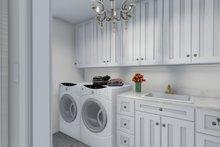 Craftsman Interior - Laundry Plan #1060-65