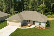 Ranch Style House Plan - 3 Beds 2 Baths 1232 Sq/Ft Plan #430-181 Exterior - Front Elevation
