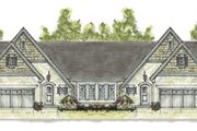 Cottage Style House Plan - 4 Beds 3 Baths 3640 Sq/Ft Plan #20-1271 Exterior - Front Elevation