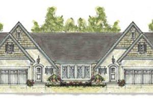 Cottage Exterior - Front Elevation Plan #20-1271
