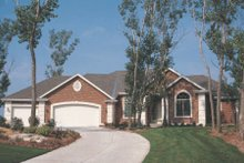 Dream House Plan - European Exterior - Other Elevation Plan #20-1282
