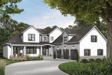 Architectural House Design - Farmhouse Exterior - Front Elevation Plan #23-2693