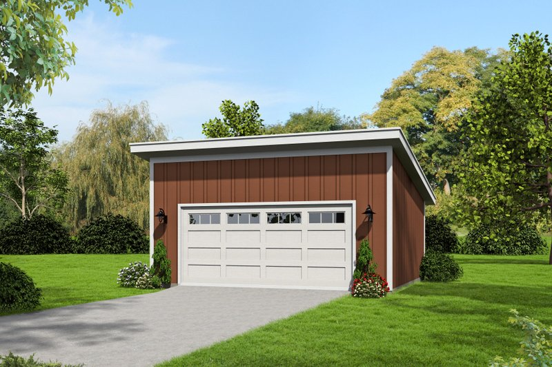 Contemporary Exterior - Front Elevation Plan #932-224