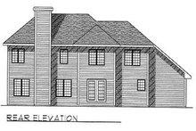 Traditional Exterior - Rear Elevation Plan #70-392