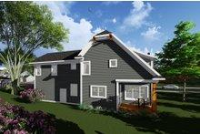 Home Plan Design - Craftsman Exterior - Rear Elevation Plan #70-1276