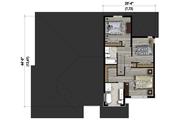 Contemporary Style House Plan - 4 Beds 3 Baths 2713 Sq/Ft Plan #25-4609 Floor Plan - Upper Floor Plan