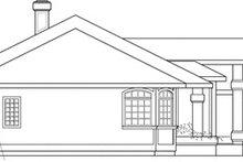 Home Plan - Modern Exterior - Other Elevation Plan #124-150